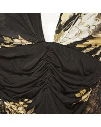 Roberto Cavalli \n Black Viscose Dress