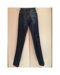 Roberto Cavalli \n Blue Cotton Jeans