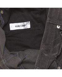 Helmut Lang Gray Skinny jeans