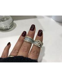 Chanel Metallic Ringe