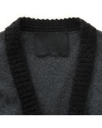 Lanvin Gray \n Grey Wool Knitwear