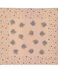 Ferragamo Pre-owned Vintage Pink Silk Scarves