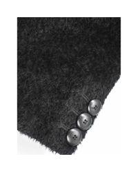 Mantel en Laine Noir Max Mara en coloris Black