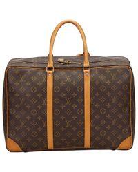 Louis Vuitton Brown Leinen 48 Std/ Tasche