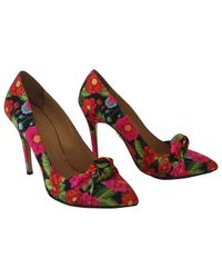 Charlotte Olympia Red Pre-owned Multicolour Other Heels