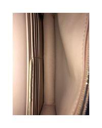 Fendi Pink Kan I Logo Leder Clutches