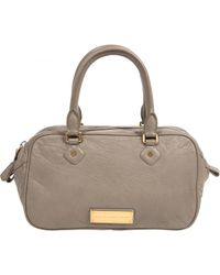 Marc By Marc Jacobs - Gray Pre-owned Grey Leather Handbags - Lyst
