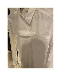Chemises en Coton Blanc Dries Van Noten pour homme en coloris White
