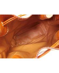 Borsa a mano in tela marrone di Céline in Brown