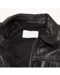 Zadig & Voltaire Black Pre-owned Leather Short Vest
