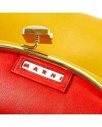 Marni Multicolor Leder Clutches
