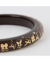 Louis Vuitton - Brown Inclusion Bracelet - Lyst