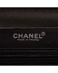 Chanel Black Leather