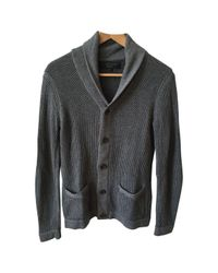 Maglione. Gilet. Felpe in cotone grigio \N di Rag & Bone in Gray da Uomo