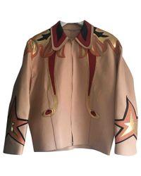 Miu Miu Brown Leather Jacket