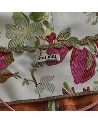 Miu Miu Multicolor Multicolour Viscose Coat