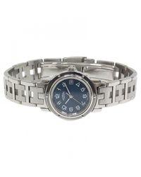 Hermès Blue Clipper Watch