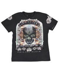 Philipp Plein T-shirts in Gray für Herren