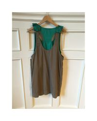 Stella McCartney Green Mini Kleid
