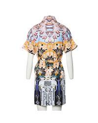 Mary Katrantzou Multicolor Mini Kleid