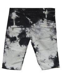 Short Balmain pour homme en coloris Black