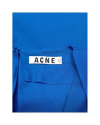 Acne Blue Polyester