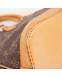 Louis Vuitton Brown Alma Leinen Handtaschen