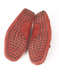 Tod's Red Suede for men