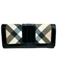 Burberry Black Pre-owned Leather Wallet
