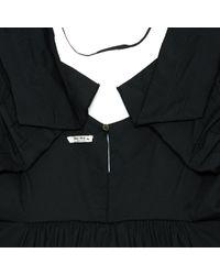 Miu Miu \n Black Cotton - Elasthane Dress