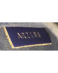 Louis Vuitton Blue Leder Handtaschen