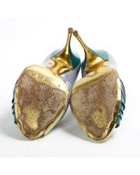 Miu Miu \n Green Patent Leather Heels