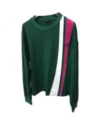 Jil Sander Pre-owned Green Polyester Knitwear & Sweatshirts for men