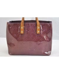 Bolsa de mano en charol violeta Reade Louis Vuitton de color Purple
