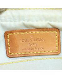 Louis Vuitton Gray Juliette Leinen Cross Body Tashe