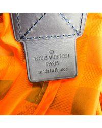 Louis Vuitton Leinen Taschen in Orange für Herren