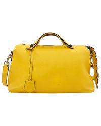 Fendi Yellow By The Way Leder Handtaschen