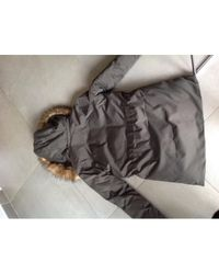 Claudie Pierlot Multicolor Khaki Polyester Coat