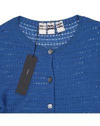 Marc Jacobs Blue Kaschmir cardigan