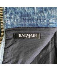 Balmain Blue Mini Rock