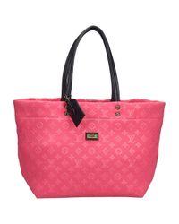 Louis Vuitton Pink Shopper