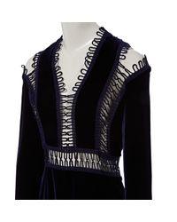 Robes Christopher Kane en coloris Black