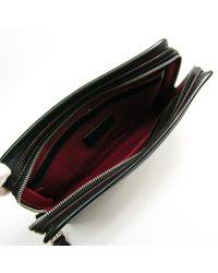 Loewe Black Leder Clutches