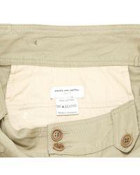 Dries Van Noten Natural Beige Cotton Trousers for men