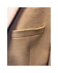 Chaqueta en algodón beige Givenchy de hombre de color Natural
