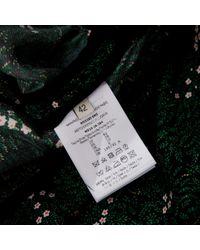 Vestido en seda verde Marco De Vincenzo de color Green