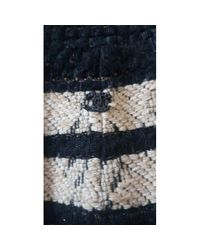 Chanel Multicolor Tweed Halblang rock