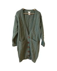 Chloé Green Wool Knitwear