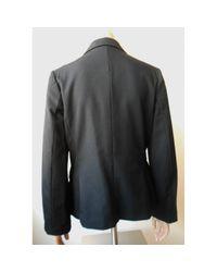 Comme des Garçons Black Wool Jacket
