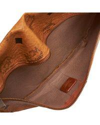 Pochette in tela marrone di MCM in Brown